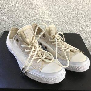 Converse Sneaker stringata bianco sporco