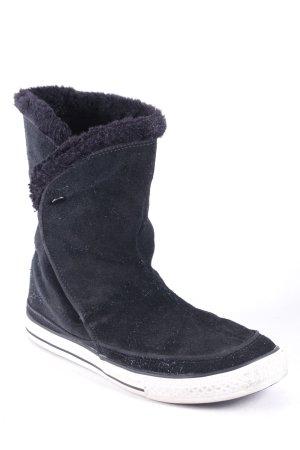 Converse Stiefeletten schwarz Street-Fashion-Look