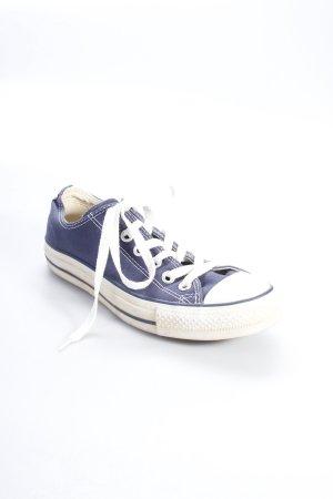 Converse Stoffsneaker blau