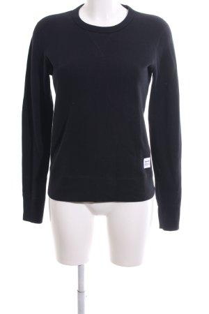 Converse Sweatshirt schwarz Casual-Look