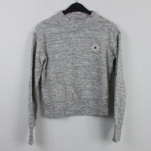CONVERSE Sweatshirt Gr. S grau meliert (18/9/533)