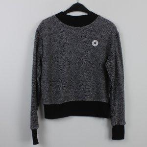 CONVERSE Sweatshirt Gr. S schwarz grau (18/9/534)