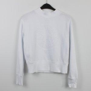 CONVERSE Sweatshirt Gr. S weiß (18/9/530)