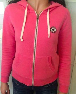 Converse Sweatshirtjacke Gr. M Pink Rosa NEU