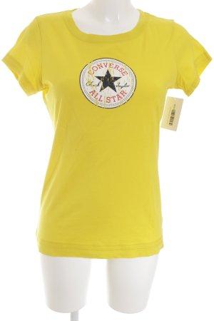 Converse T-Shirt gelb Casual-Look