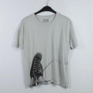 Converse T-shirt grijs