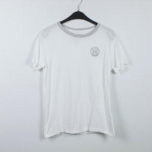 Converse T-shirt wit-grijs
