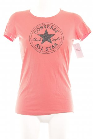 Converse T-Shirt lachs Logo-Applikation