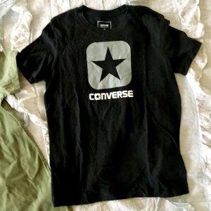 Converse T-Shirt schwarz grau Gr M