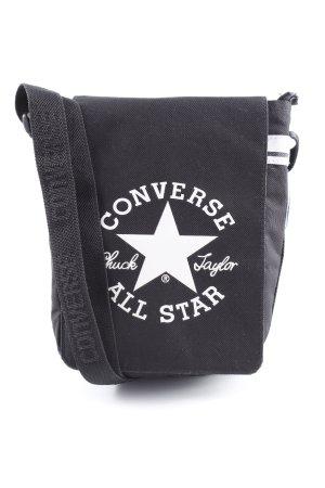 Converse Umhängetasche schwarz-weiß Casual-Look