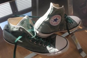 Converse Skater Shoes dark green-anthracite