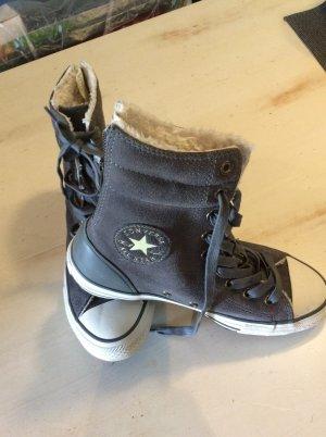 Converse Winter Chucks Gr 38 grau