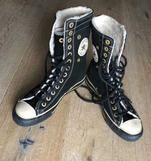 Converse Winter Chucks schwarz Wildleder Gr. 39 * NP € 180