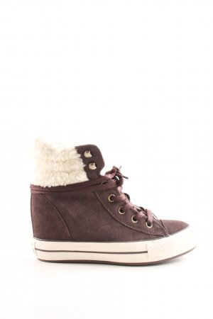Converse Winter Boots brown casual look