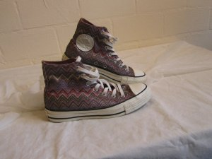 CONVERSE X MISSONI: Hoher Sneaker, Gr. 4,5 / 37,5