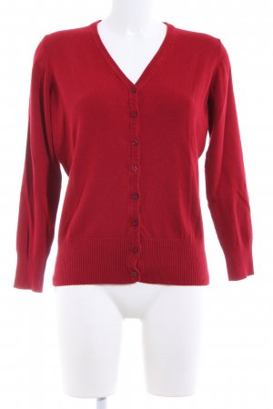 Cool Code Cardigan red casual look
