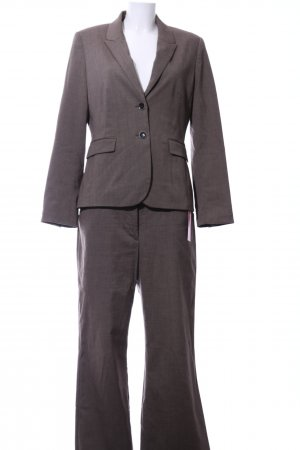 Cool Code Trouser Suit bronze-colored flecked business style