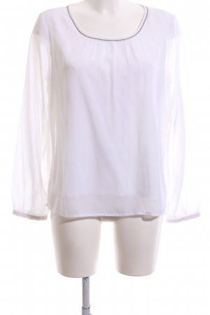 Cool Code Blouse à enfiler blanc style d'affaires