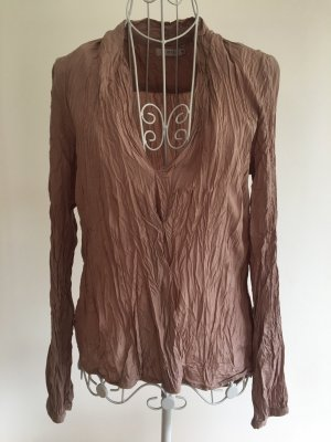 Cool! Crinkle-Bluse, 40, von kaffe, Farbe blass-taupe