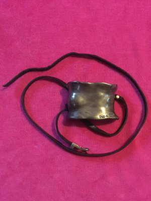 Cool Uno de 50 armband, metal and leather
