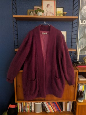 Cool vintage mohair jacket