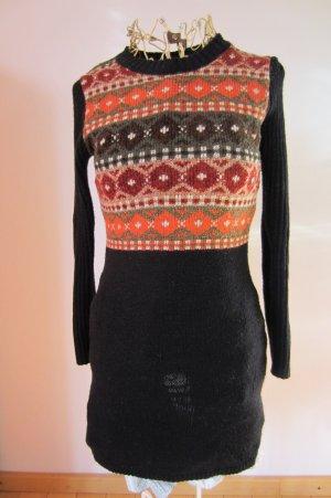 COOL WARM VERPACKT in schickem Pullover-Kleid S