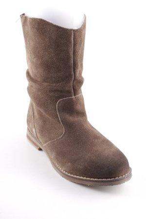 Cool Way Stivale a gamba corta marrone stile casual