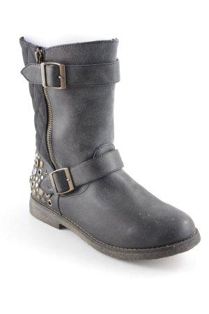 Cool Way Korte laarzen donkerblauw casual uitstraling