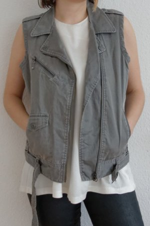 Levi's Denim Vest grey mixture fibre