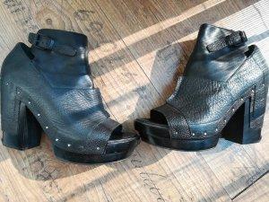 Alexander Wang Platform Pumps black leather