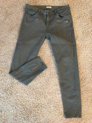 Coole Ankle Jeans von Esprit Größe 38 olivgrün