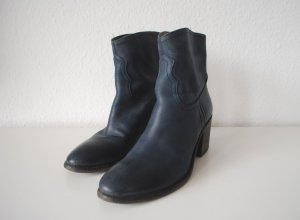 Coole Ankleboots Booties Stiefeletten 39 Leder