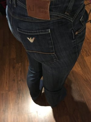 Armani Low Rise jeans blauw