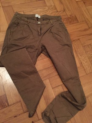 Coole Baggy-Chino in Camel, Größe 38