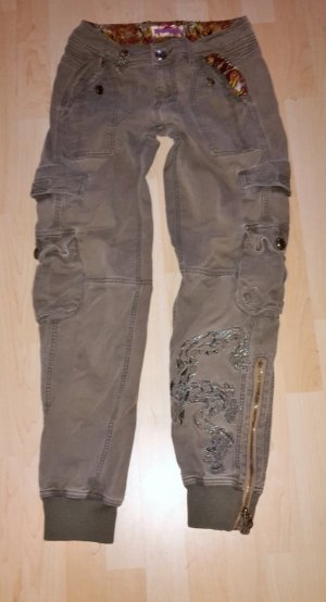 Coole Baggyhose, Cargo von Pepe Jeans oliv