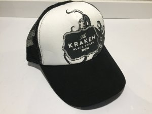 "Coole Basecap ""The Kraken - black spiced Rum"" - NEU!"