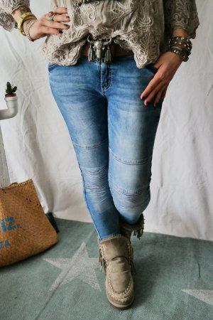 Coole Biker Jeans passt Gr. S bis M