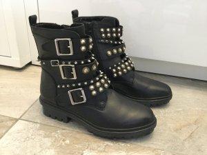 Aldo Boots multicolored leather