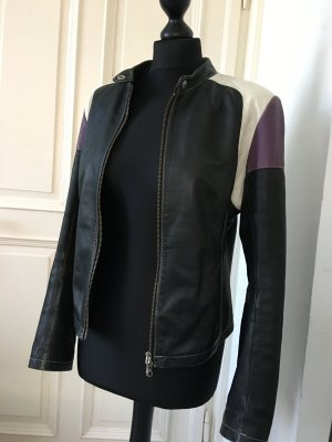 Coole Bikerjacke aus Leder