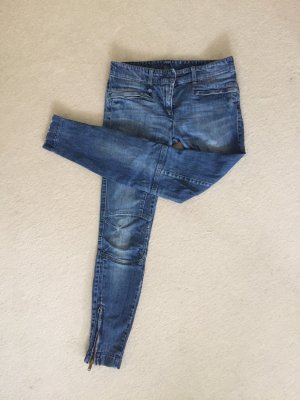 Low-Rise Trousers blue