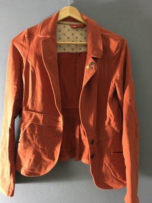 edc Jersey Blazer dark orange
