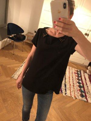 Coole Bluse mit Rückendetaill und süßem Kragen