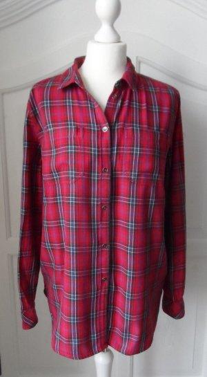 coole Bluse von Esprit Gr. 40 rot klariert wenig getragen