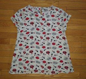 Coole Bluse von Frogbox, Gr. 36-38, NEU