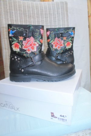 Catwalk Boots black-red