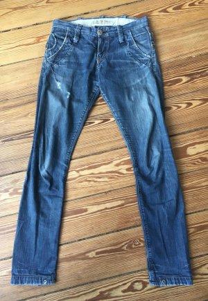 Gstar Jeans boyfriend azzurro Cotone