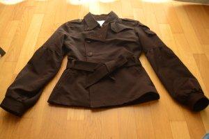 Diesel Chaqueta corta marrón-negro-marrón Lana