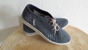 Coole Bugatti Echt Leder Sneaker Boots Schuhe Halbschuhe Turnschuhe gr 40