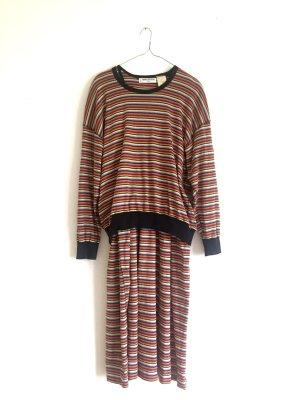 Coole Bunte Kombi Pullover+Kleid von vintage Sonia Rykiel
