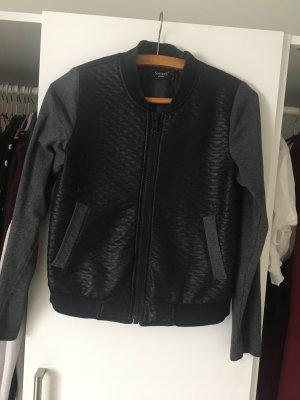 Coole Cardigan schwarz grau